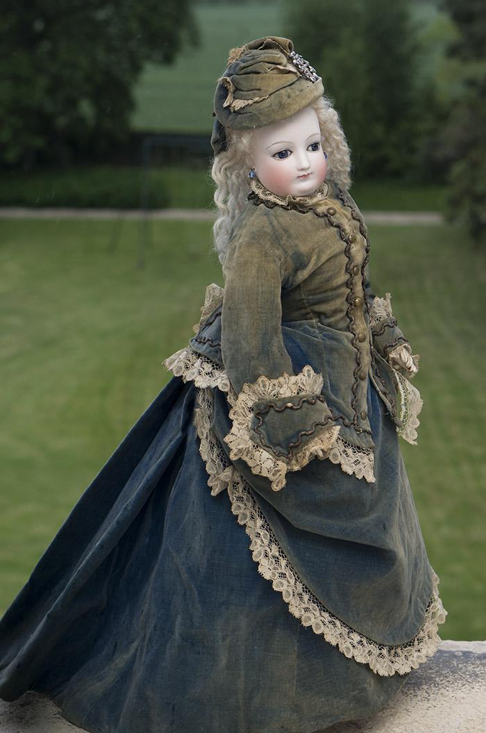 Редкая французская модная кукла Barrois - Париж, 1870-е годы, 51 см