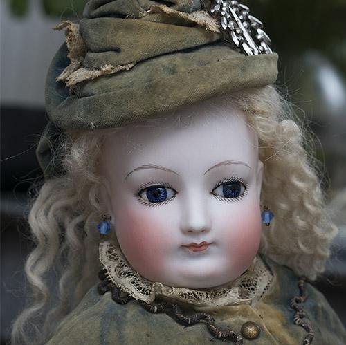 Редкая модная кукла Barrois - Париж, 1870-е годы