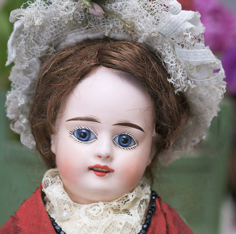 French Paper Mache Doll
