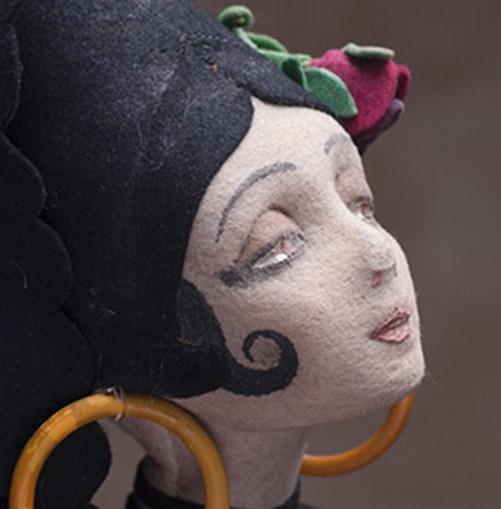 1923 Lenci Boudoir Spanish Lady Doll