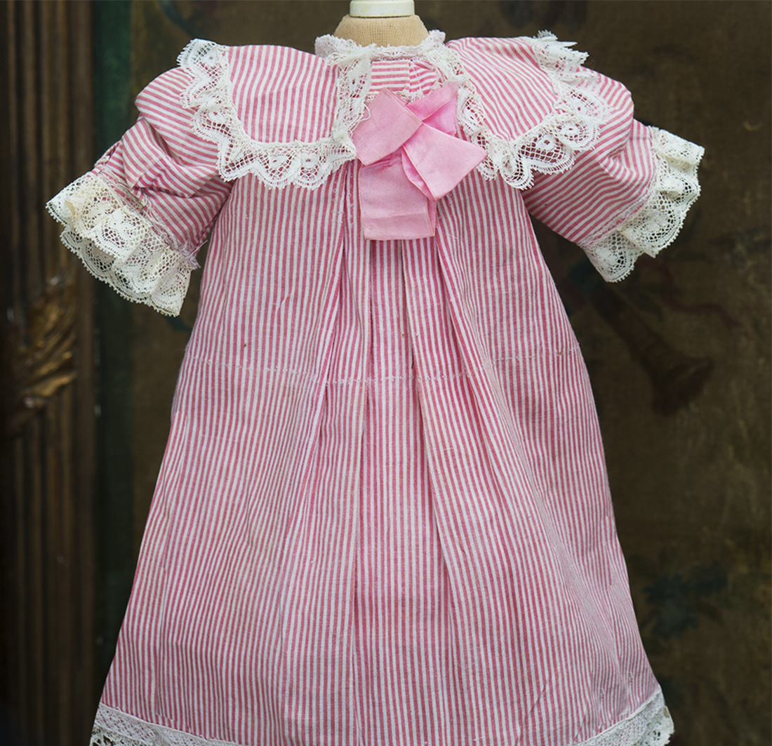 Antique Dress for doll about 18