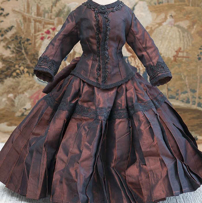 Silk taffeta dress