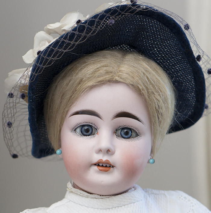 01 German Bisque Doll by  Kuhnlenz