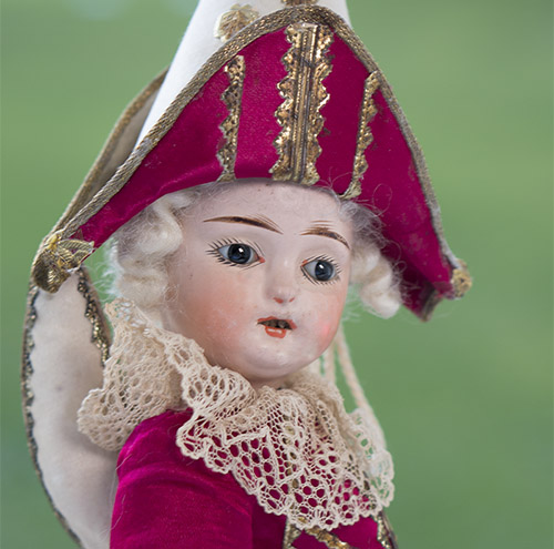 Rare French Polichinelle doll