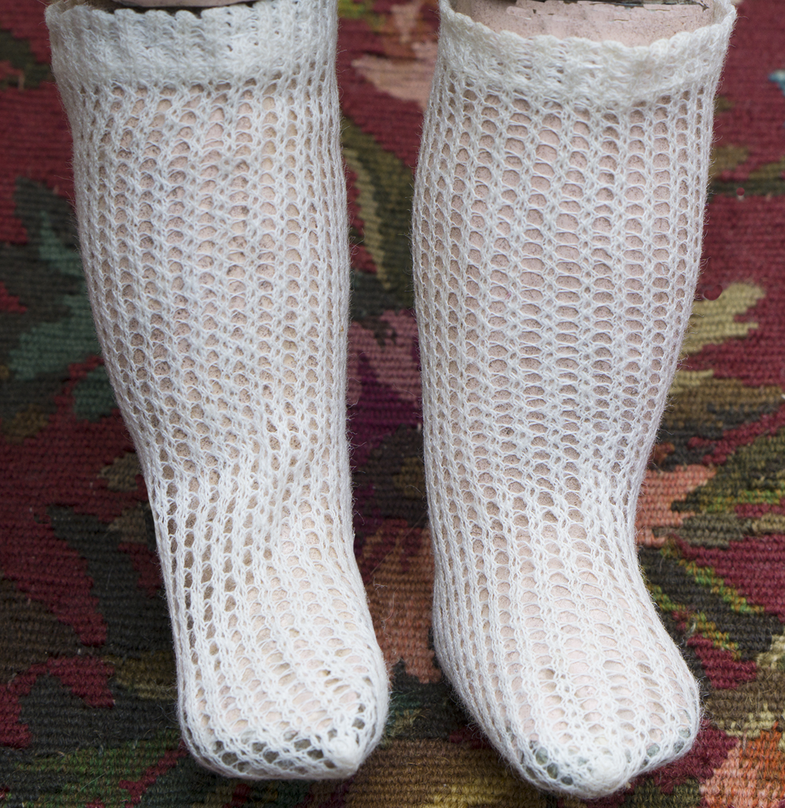 Jumeau Bebe doll Socks