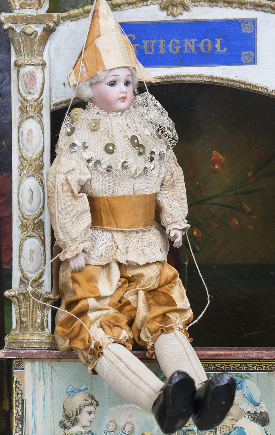 37 см Кукла-Полишинель