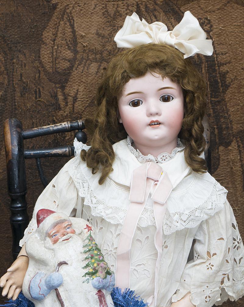 Очень Большая Русская кукла Шраер отливка 478, высота 90см