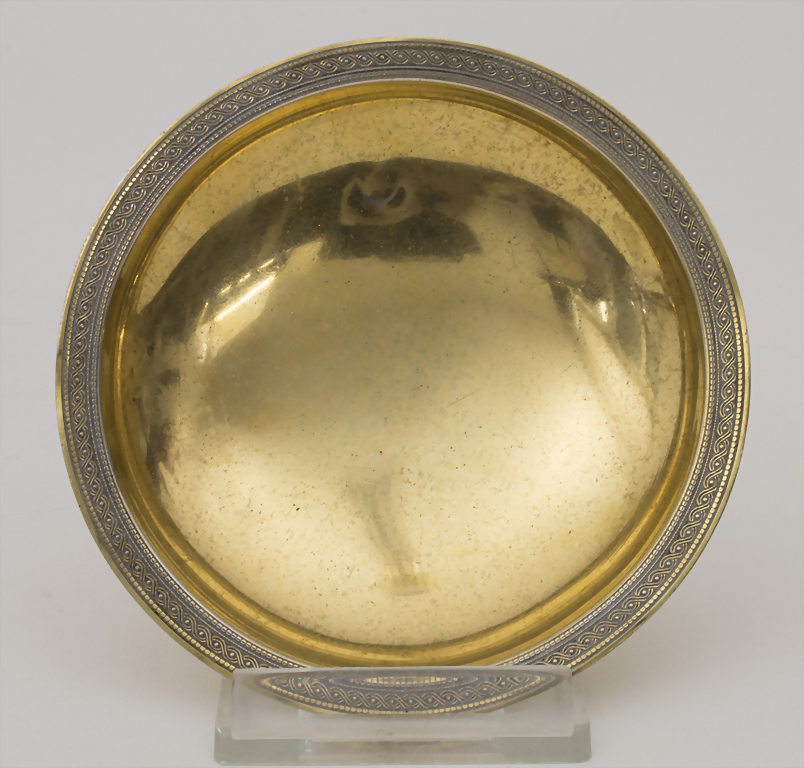 A small silver bowl, E. Puiforcat