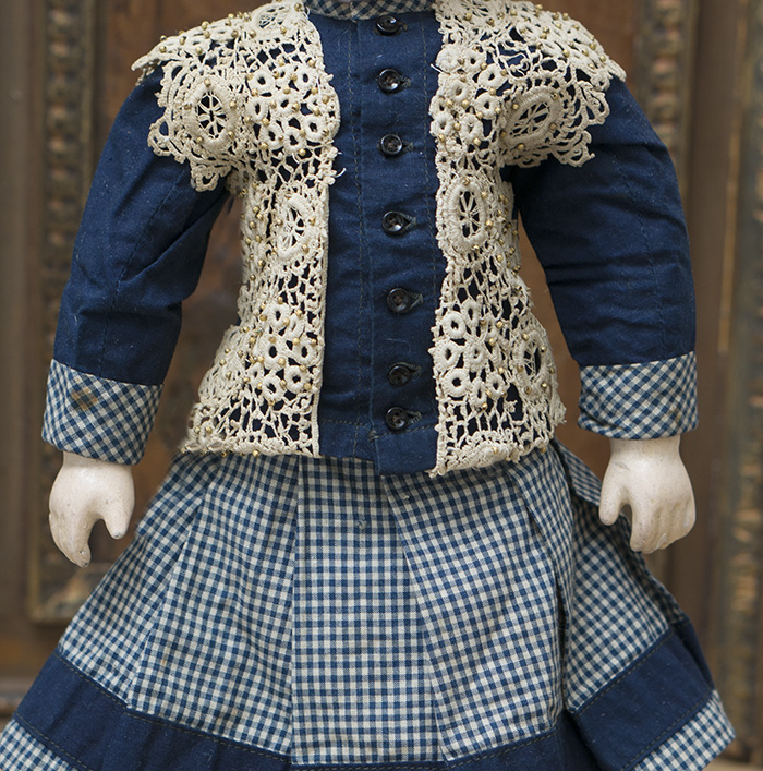 Oiriginal Blue costume for doll