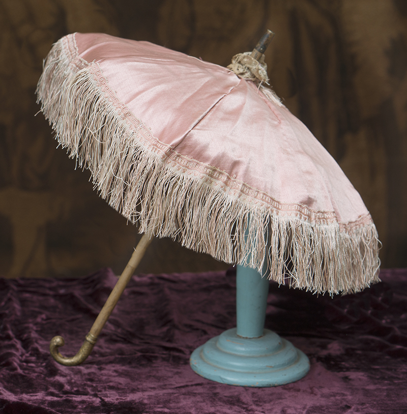 Antique French doll parasol