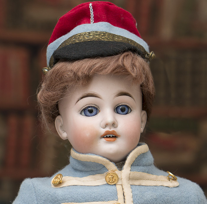 German DEP doll in uniform