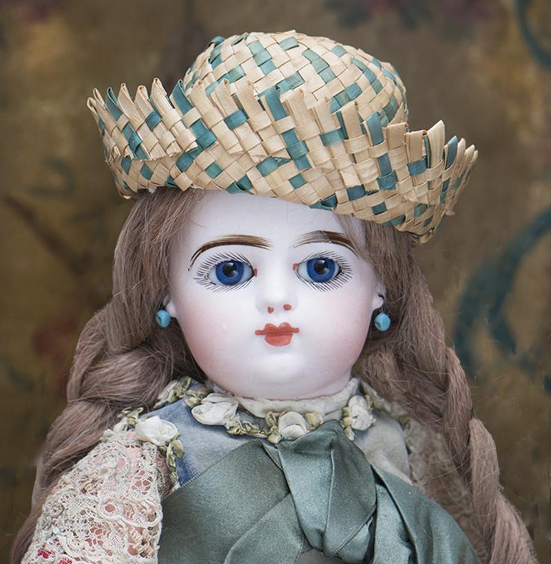 38 см Кукла Готье с закрытым ртом, старинная одежда