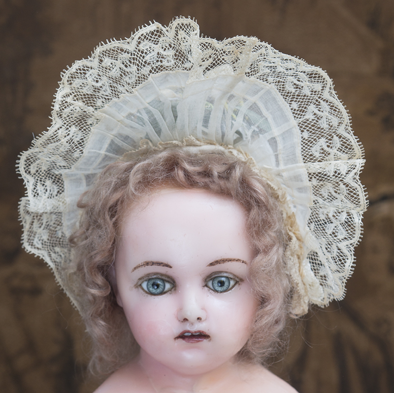 Antique Original Doll Hat  Bonnet