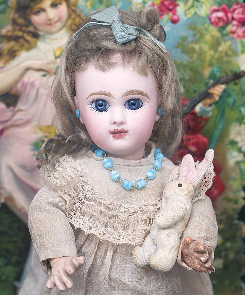 Куколка Jumeau 25 см в оригинальной одежде