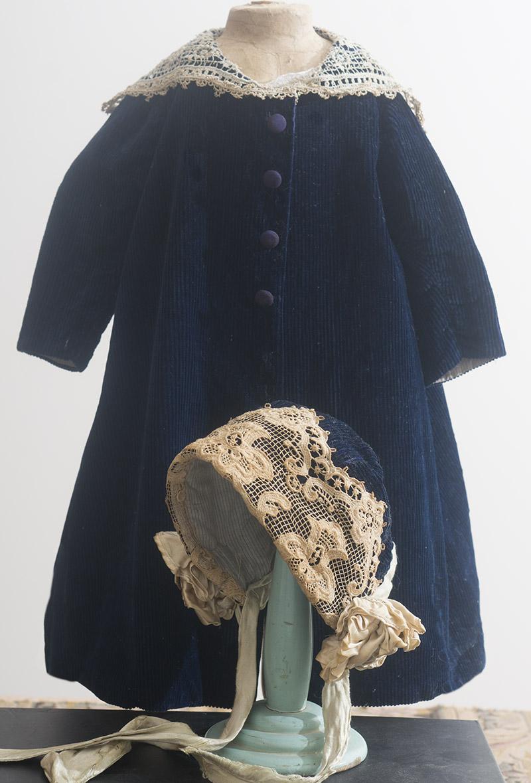 Пальто и Боннет для куклы