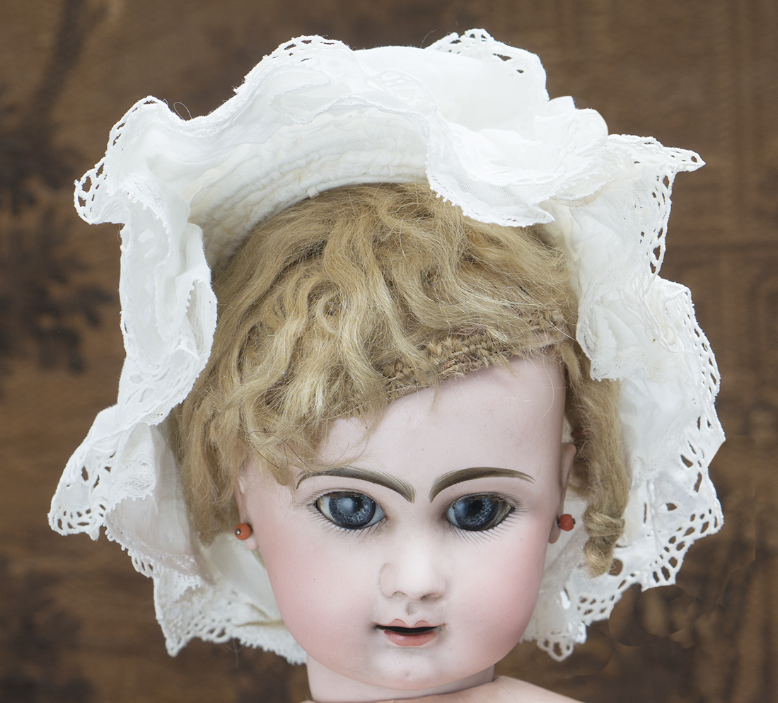 Original Cotton Lace Bonnet