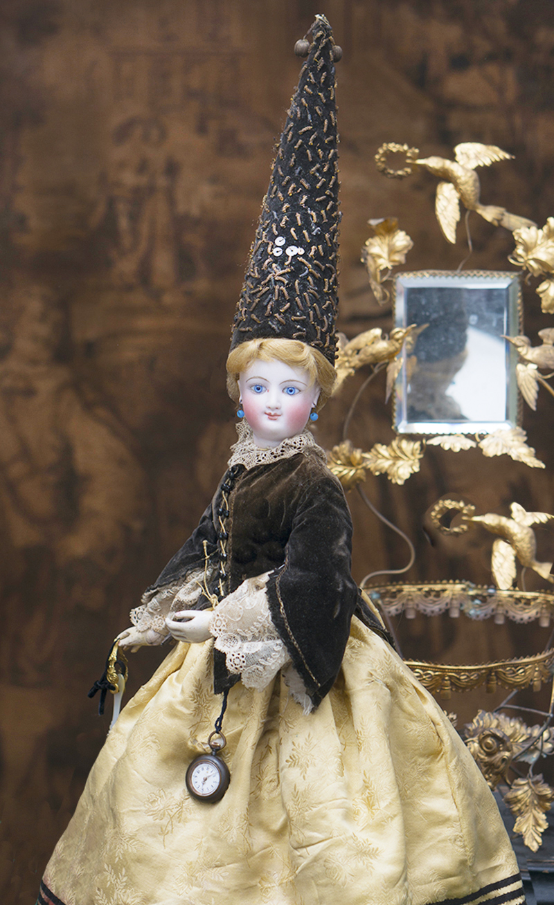 Модная кукла BRU в оригинальном костюме гадалки