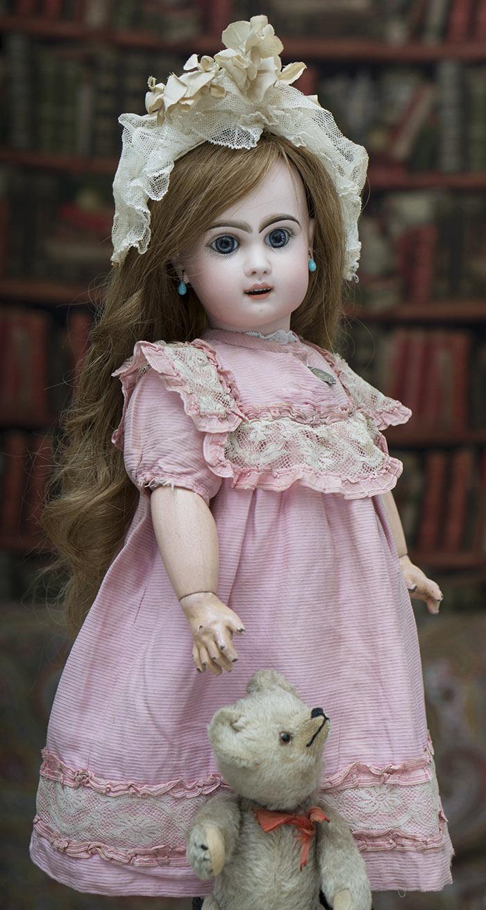 -Кукла Jumeau с открытым ртом в отличном состоянии