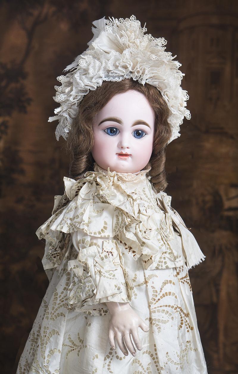60 см Редкая ранняя кукла Rabery & Delphieu, 1870е годы