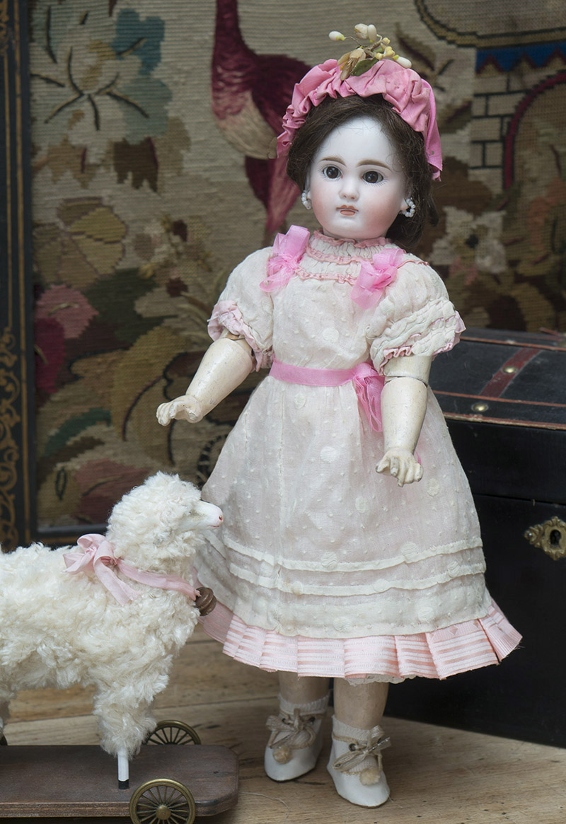 35cм Кукла  с закрытым ртом Sonneberg, 1885г.