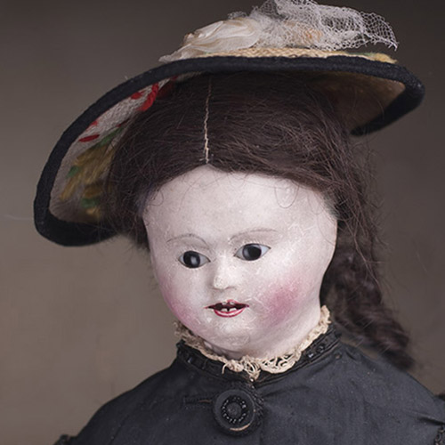 Модная кукла 1840-1850-х годов! 45 см