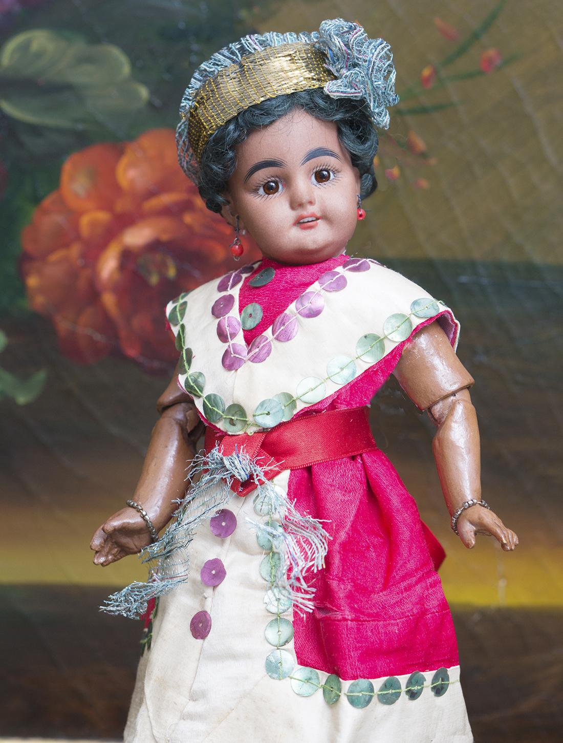 28см  Кукла мулатка 739 DEP