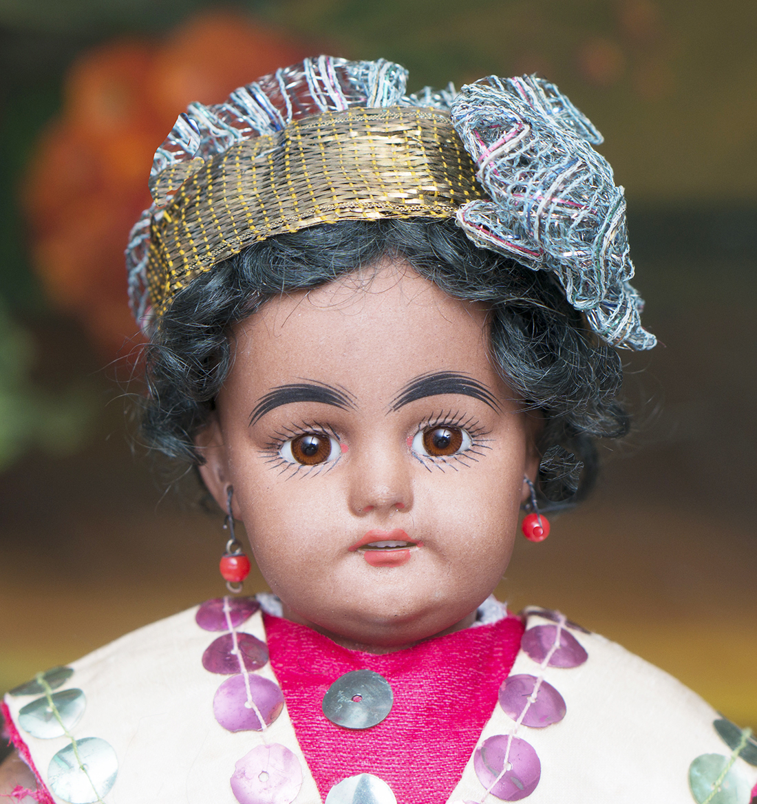 Small brown Complexion doll