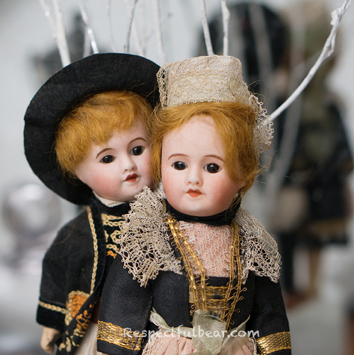 Two antique french SFBJ dolls