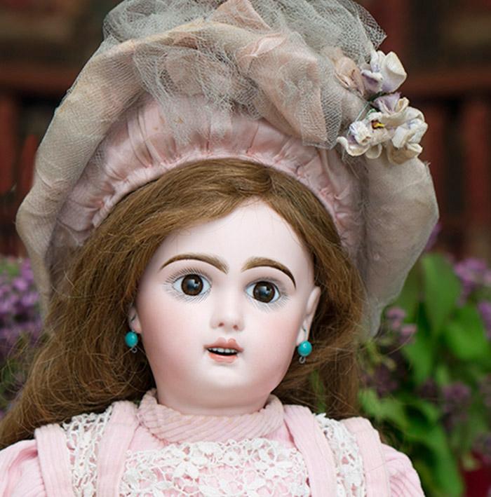 49 см Кукла JUMEAU с редким механизмом спящих глаз, 1896г.