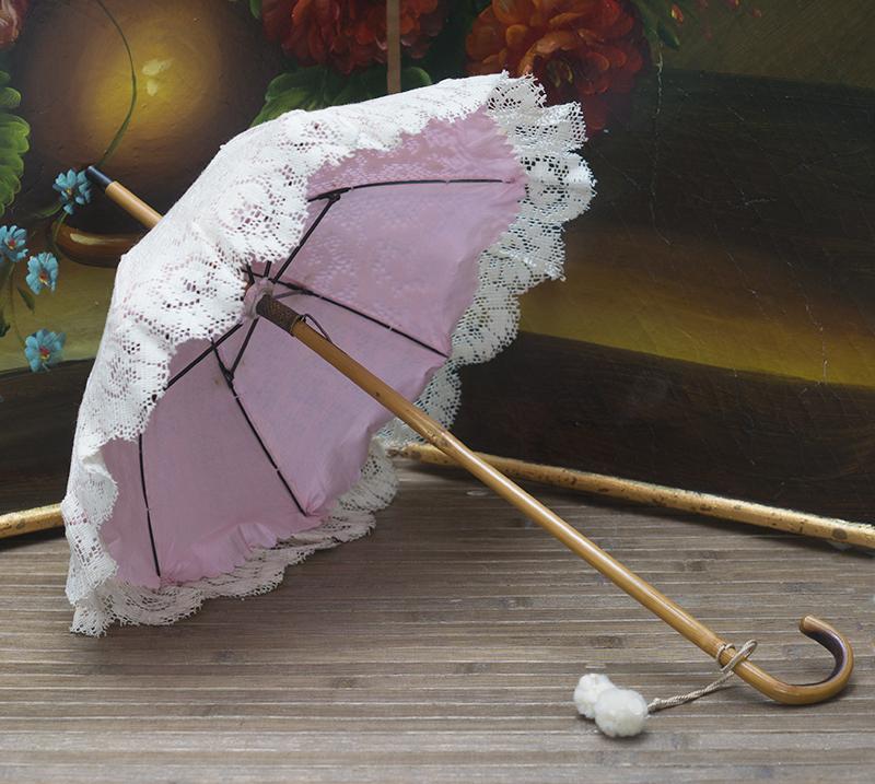 Antique doll parasol