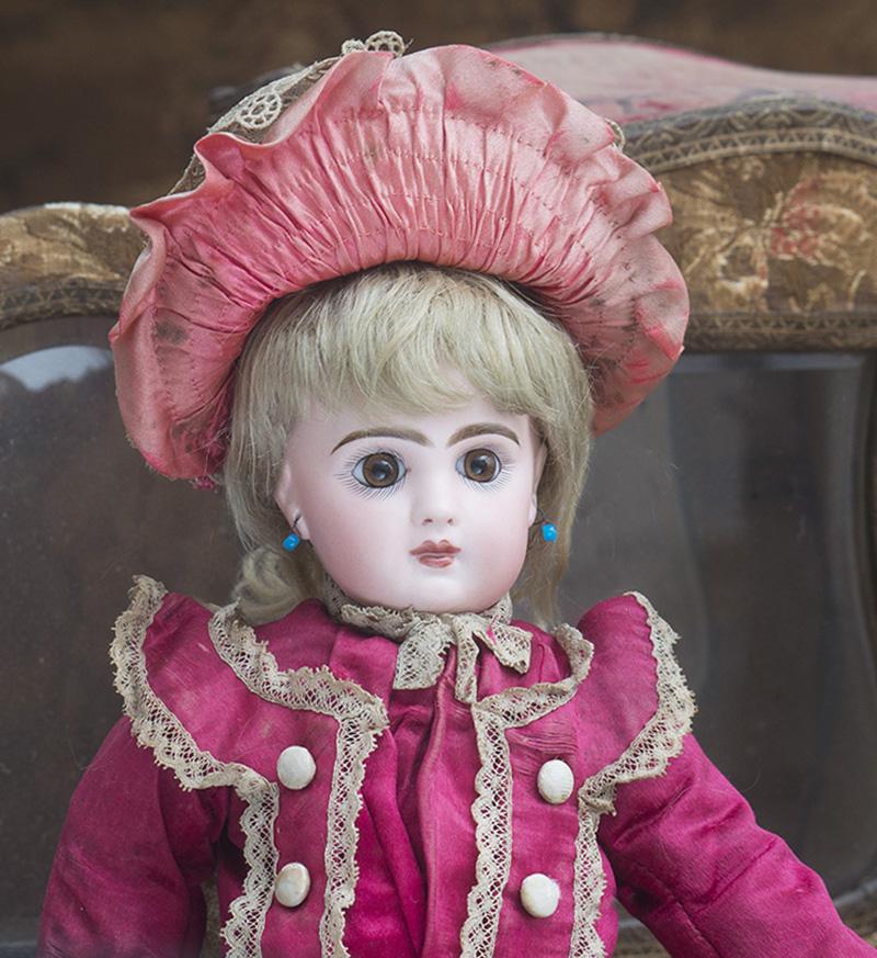 37 см Кукла Jumeau с закрытым ртом, в оригинальном костюме