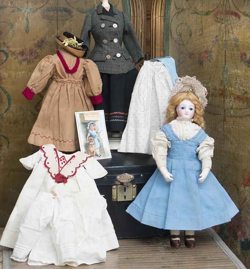 34 см Модная кукла Rohmer с сундучком приданого