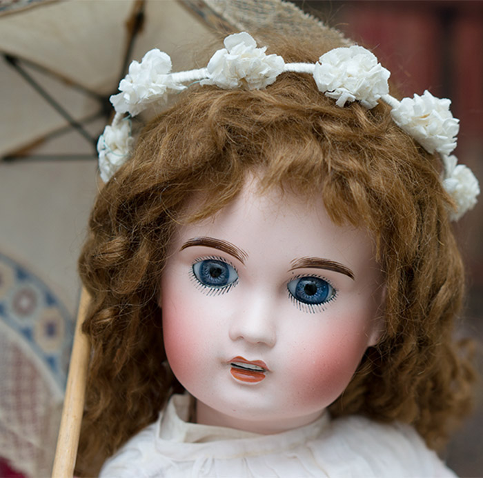 Antique French Limoges Doll