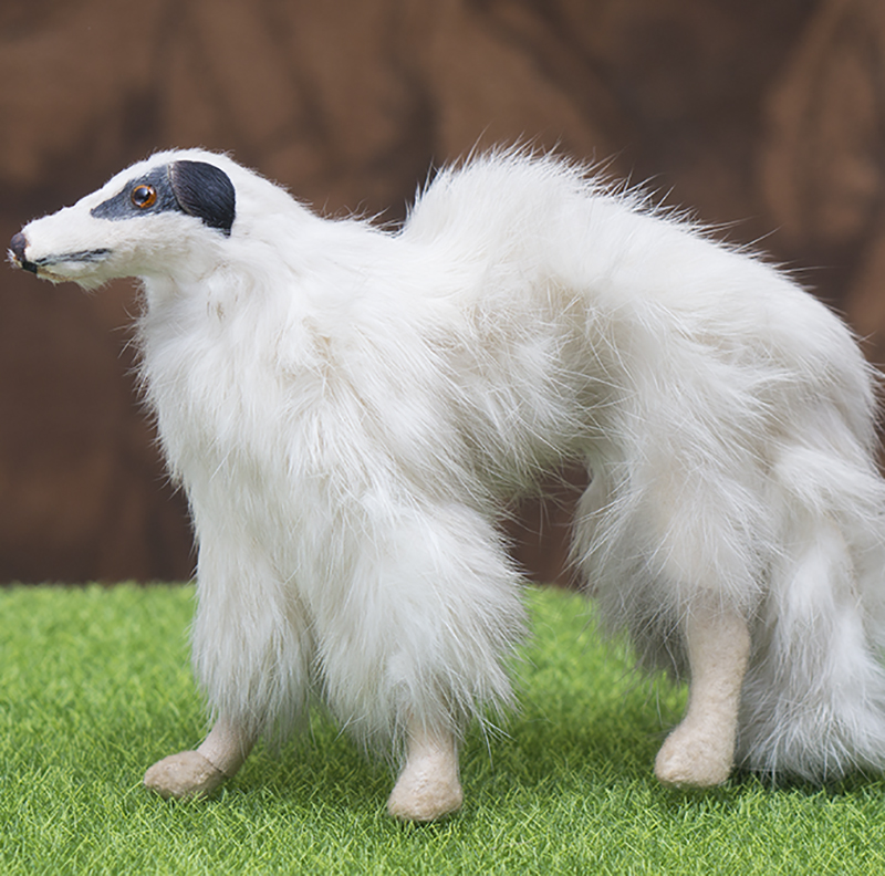 Borzoi doll for fashion doll