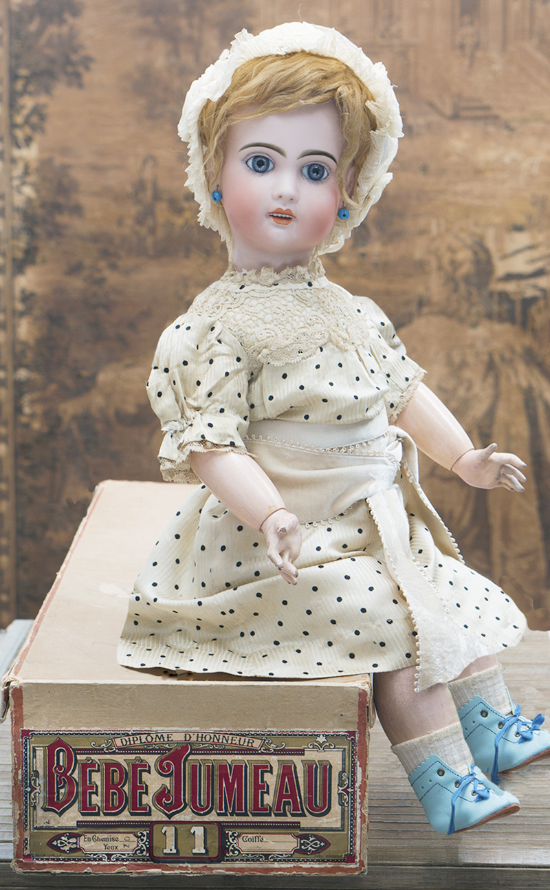 61см Кукла Jumeau c редкой маркировкой Х, в оригинальной коробке