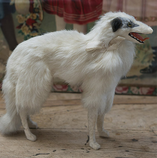 French Borzoi dog for fashion doll
