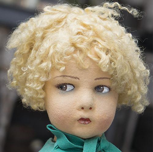 Rare Lenci doll serie 109, 55 cm