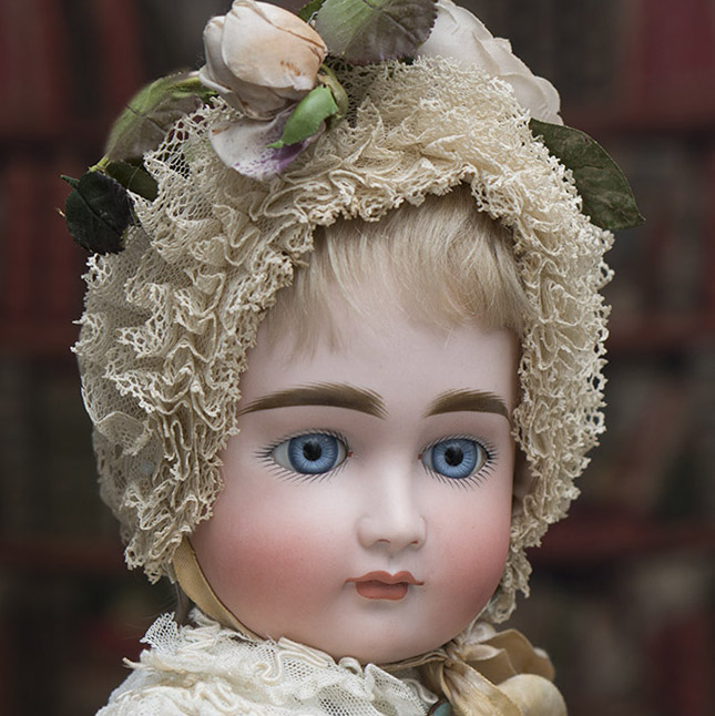 Early Kestner doll,closed mouth