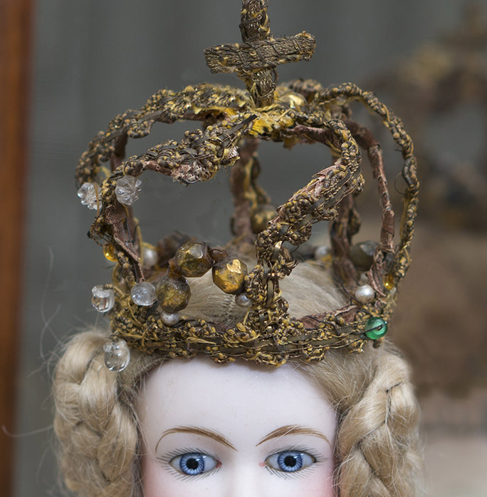 Antique Original Fashion Doll Crown