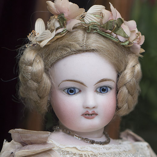 Antique Mechanical Waltzing Steiner Doll