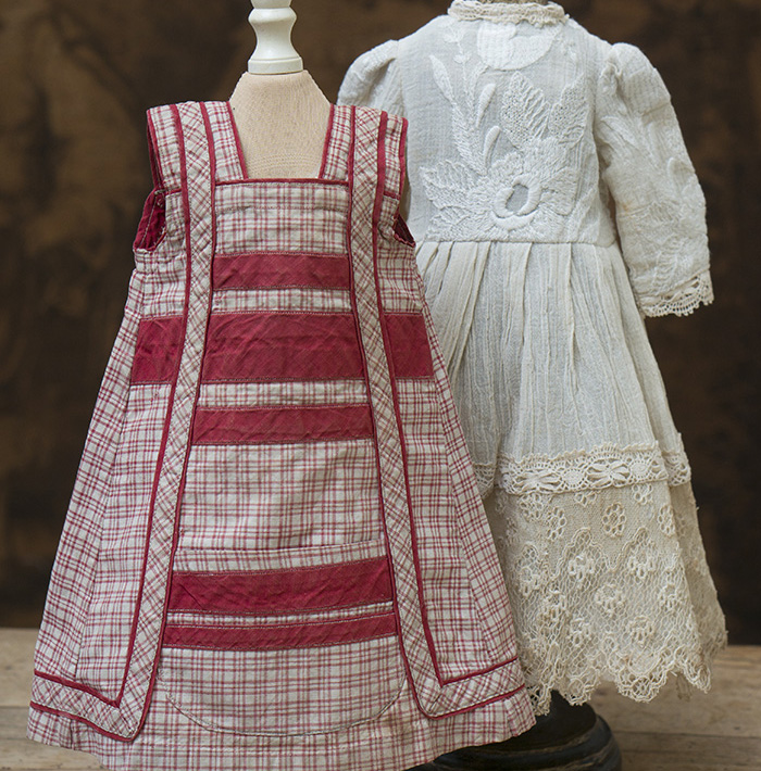 Antique Pinafore and Dress