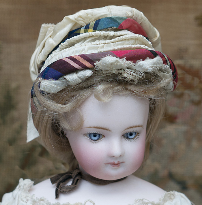 Antique Silk&Lace Hat for fashion doll