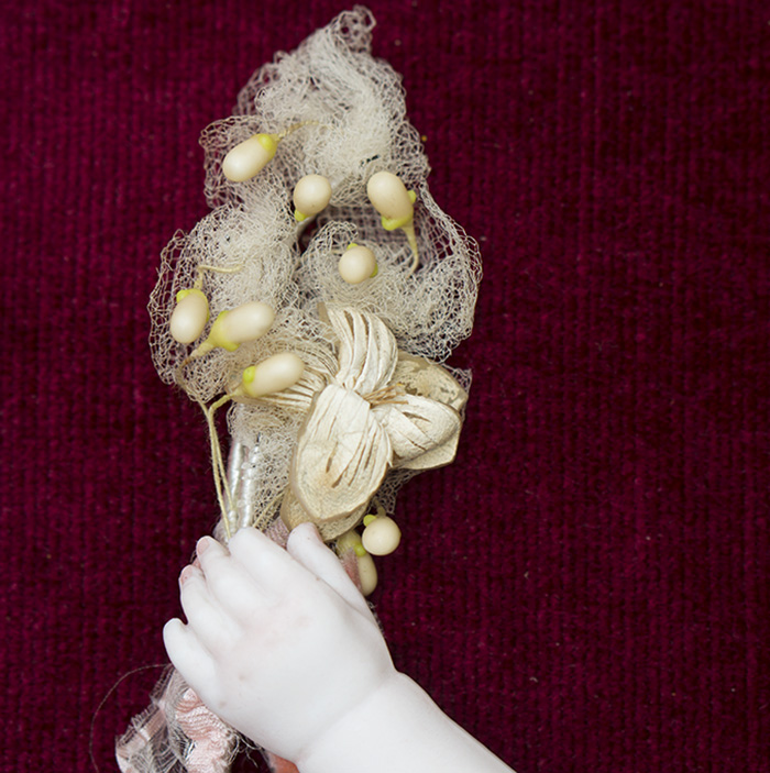 Antique bouquet for fashion doll