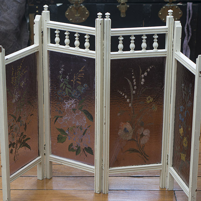 Antique Original German  Screen