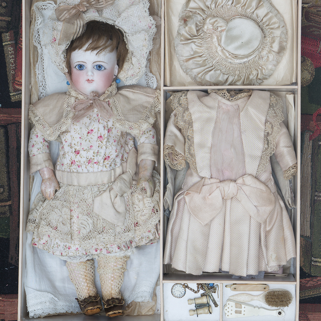 Schmitt doll in presentation box