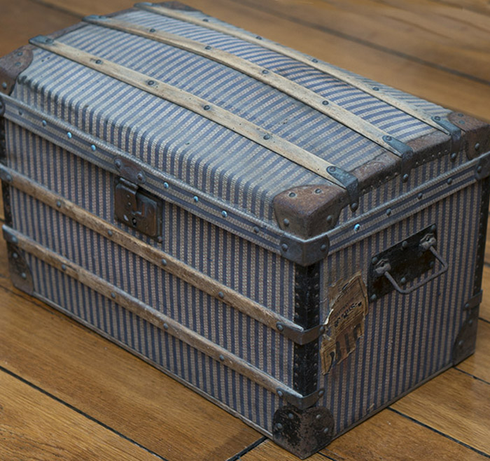 Antique French Trunk for doll