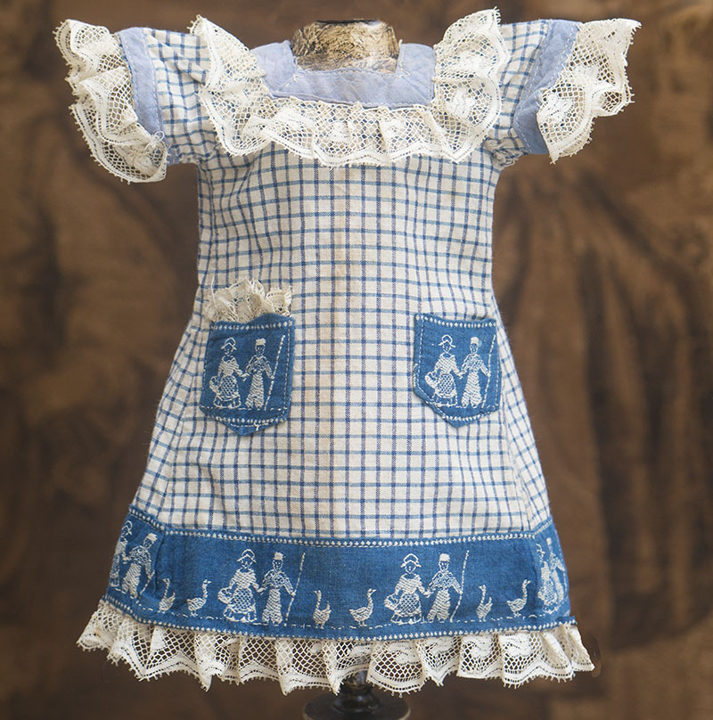 Antique Original Pinafore Dress