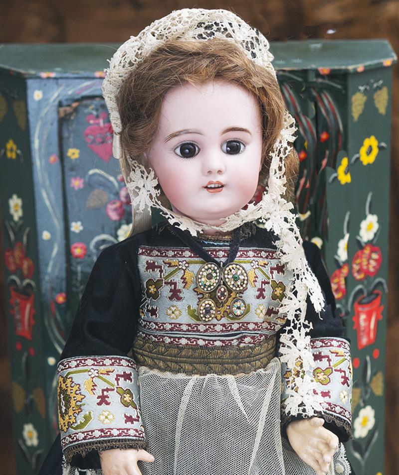 41 см Кукла DEP в нормандскаом костюме, для французского рынка