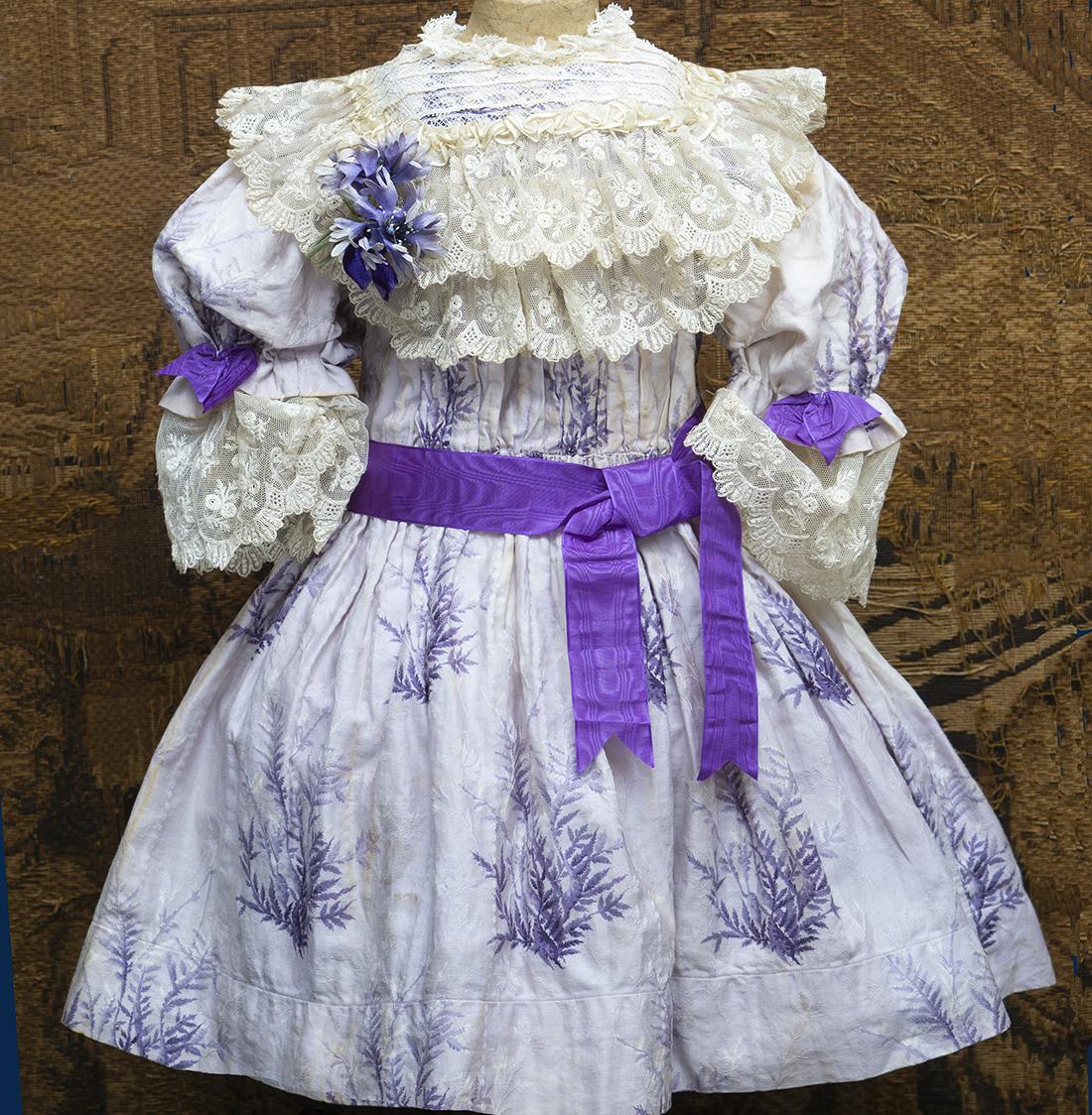 Antique Original dress for doll 26in