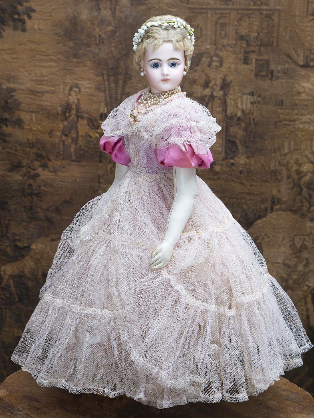 53cм Французская Модная Портретная кукла Jumeau